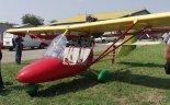 Samolot sportowy ULM- Lepolam w widoku z lewej strony. (Źródło: Aleksander Dobrzański via Damian Lis).
