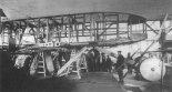 """Samolot """"Swiatogor"""" podczas budowy w zakładach Towarzystwa Akcyjnego Żeglugi Powietrznej W. A. Lebiediew. (Źródło: archiwum)."""