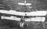 Samolot De Havilland DH-2 w widoku z góry. (Źródło: archiwum).