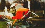 Do celów transportowych trzeba było zbudować specjalny wózek. (Źródło: Przegląd Lotniczy Aviation Revue nr 12/2001).