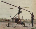 Pierwsza wersja śmigłowca odjętymi silnikami. (Źródło: Skrzydlata Polska nr 44/1964).