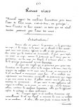 """Rękopiśmienna karta memoriału patentowego Hoene-Wrońskiego na koła żywe. (Źródło: Januszewski S. """"Wynalazki lotnicze Polaków 1836- 1918"""")."""