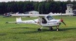 """Ultralekki samolot sportowy """"Raček"""" (OK-EUU-26) należacy do Aeroklubu Tocna. (Źródło: Copyright Piotr Biskupski)."""