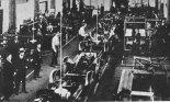 Montaż samochodów na licencji General Motors w drugiej połowie lat 1930- tych. (Źródło: archiwum).