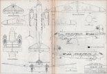 Lisunow Li-2P, plany modelarskie. (Źródło: Modelarz nr 2/1971).