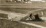 Samolot sportowy LKL-2bis (SP-ADE), widok z prawej strony. (Źródło: archiwum).