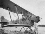 Wodnosamolot rozpoznawczo- bombowy Lublin R-VIII ter, zniszczony we wrześniu 1939 r. w rejonie Chałup na półwyspie Helskim. (Źródło: archiwum).