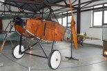 Zachowany kadłub LVG B-IIa nr 350/17 w Muzeum Lotnictwa Polskiego w Krakowie. (Źródło: Wikimedia Commons).