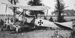 Samolot rozpoznawczy LVG B-I w widoku z prawej strony. (Źródło: archiwum).