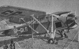 """LWD """"Żuraw"""" (SP-GLB) podczas prób w Instytucie Lotnictwa. (Źródło: archiwum)."""