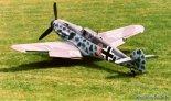 """Samolot myśliwski Messerschmitt Me-109G-6 należący do Fundacji Polskie Orły. (Źródło: Copyright Katarzyna Tracz """"goraszka.info"""")."""