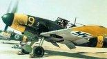 Samolot myśliwski Messerschmitt Bf-109G-2 lotnictwa wojskowego Finlandii. (Źródło: archiwum).