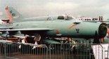 Samolot myśliwski MiG-21-2000 zmodernizowany w firmie IAI. Zdjęcie wykonane podczas Le Bourget'93 w Paryżu. (Źródło: Tomasz Szulc via Nowa Technika Wojskowa 7-8/1993).