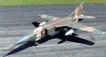 Samolot myśliwski Mikojan MiG-23MLD lotnictwa radzieckiego. (Źródło: U.S. Air Force).