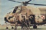 Śmigłowiec Mi-4A wywozi skoczków spadochronowych, VIII Miedzynarodowy Wielobój Spadochronowy Krajów Socjalistycznych, Bydgoszcz, 5-12.08.1978 r. (Źródło: Skrzydlata Polska nr 36/1978).