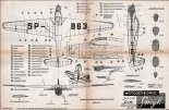 "MIP ""Smyk"", plany modelarskie. (Źródło: Modelarz nr 5/1957)."