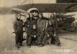Morane-Saulnier MS-30E1 jeszcze we francuskim malowaniu, Bydgoszcz, 1923 r. (Źródło: archiwum).