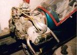 Silnik Volkswagen stanowiący napęd motoszybowca. (Źródło: Copyright Jerzy Adamiec).