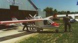 """Samolot Air-Way KO-8 """"For You"""" na lotnisku Aleksandrów Łódzki. (Źródło: via Konrad Zienkiewicz)."""
