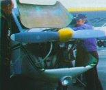 Zespół napędowy prototypu stanowiły silnik Limbach 1700 E oraz śmigło Olszewski. (Źródło: Przegląd Lotniczy Aviation Revue nr 1/1995).
