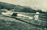 "Szybowiec Orlican M-25 ""Orlik"". (Źródło: Skrzydlata Polska nr 38/1963)."