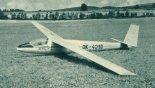 """Szybowiec w wersji Orlican VT-116 """"Orlik II"""". (Źródło: Skrzydlata Polska nr 2/1965)."""