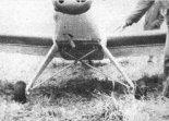 "Podwozie samolotu RO-7 ""Orlik Experimental"". (Źródło: Skrzydlata Polska nr 33/1987)."