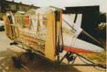 Samolot Ostrowskiego prezentowany na V Stalowowolskim Zlocie Amatorskich Konstrukcji Lotniczych (6- 8.08.1999 r.). (Źródło: Przegląd Lotniczy Aviation Revue nr 10/1999).