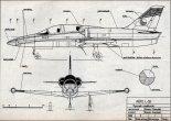 "Aero L-39ZA ""Albatros"", plany modelarskie. (Źródło: Modelarz nr 2/1970)."