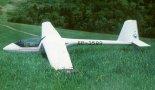 """Szybowiec klasy światowej PW-5 """"Smyk"""". (Źródło: Przegląd Lotniczy Aviation Revue nr 6/1996)."""