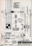 Potez XXVII, plany modelarskie. (Źródło: Modelarz nr 4/1960).