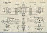PWS-10, plany modelarskie. (Źródło: Modelarz nr 5/1976).