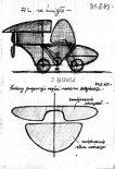 Wersja roweru latającego napedzanego śmigłem. (Źródło: archiwum Zbigniew Sułkowski).