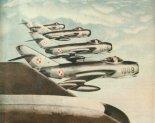 Samoloty Lim-5 w locie. (Skrzydlata Polska nr 34/1963).