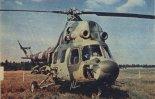 Śmigłowiec w wersji uzbrojonej PZL Mi-2URP-G. (Źródło: Skrzydlata Polska nr 16/1976).