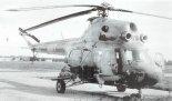 Śmigłowiec uzbrojony Mi-2URP-G podczas testów. (Źródło: Aeroplan nr 3/1996).