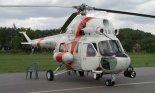 """Śmigłowiec patrolowy PZL Mi-2 (SN-03XG) Straży Granicznej. Radom 2005 r. (Źródło: Witold Mikiciuk- """"Militaria i lotnictwo Jowitka"""")."""