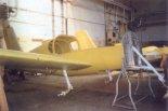 "Prototyp PZL-111 ""Senior"" w trakcie budowy. (Źródło: Skrzydlata Polska nr 15-16/1991)."