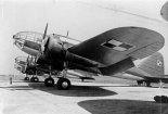 """Samoloty bombowe PZL-37A """"Łoś"""". (Źródło: archwum)."""