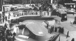 """PZL-37 """"Łoś"""" na Salonie Lotniczym w Paryżu, 1938 r. (Źródło: via Konrad Zienkiewicz)."""