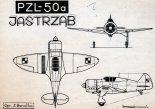 "PZL-50A ""Jastrząb"", rysunek z 1969 r. (Źródło: Modelarz nr 2/1969)."