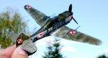 """Modelarska wizja samolotu myśliwskiego PZL-53 """"Jastrząb"""". (Źródło: Rodzime lotnictwo IIRP opowiedziane modelami ... - Facebook)."""