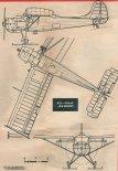 """PZL-101AF """"Gawron"""". Rysunek w trzech rzutach. (Źródło: Skrzydlata Polska nr 18/1967)."""
