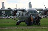 """Samolot patrolowo-rozpoznawczy PZL M28B """"Bryza bis"""" (0810).  (Źródło: Copyright Jan Wiech)."""