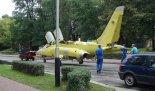 """Kadłub """"Irydy"""", który jest nie dokończonym produkcyjnie samolotem-zakończenie produkcji. (Źródło Copyright Jan Wiech)."""