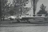 PZL M17 w widoku 3/4 z przodu. (Źródło: ze zbiorów Józefa Oleksiaka).