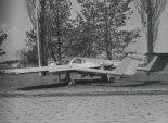 PZL M17 w widoku 3/4 z tyłu. (Źródło: ze zbiorów Józefa Oleksiaka).