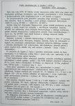 Dane na temat prób eksploatacyjnych dwóch samolotów PZL M18 w Egipcie. Dane zestawił Józef Oleksiak. (Źródło: ze zbiorów Jarosława Rumszewicza).