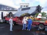 """PZL M21 """"Dromader Mini"""" (SP-PDN). Samolot dotarł do firmy AIR PARTNER w Mielcu do remontu. (Źródło: ze zbiorów Jarosława Rumszewicza)."""