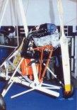 Mocna strona motolotni ML-1 - silnik Rotax 503 2V. (Źródło: Wacław Hołyś  via Skrzydlata Polska nr 11-12/1991).
